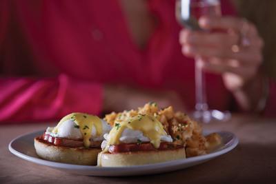 Bonefish Grill's Brunch Eggs Benedict. (PRNewsFoto/Bonefish Grill) (PRNewsFoto/BONEFISH GRILL)