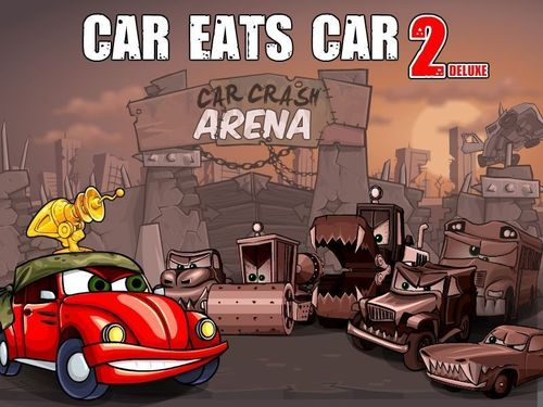Car Eats Car 2 Deluxe - online game for PC