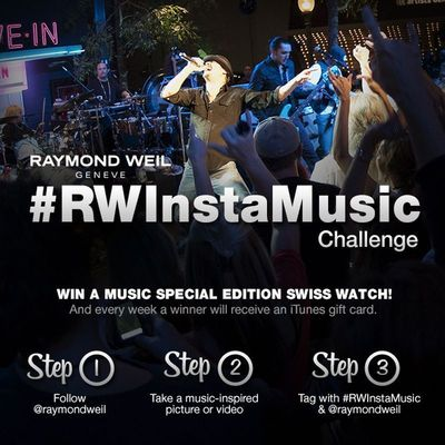 Watchmaker RAYMOND WEIL Launches a Music Challenge on Instagram