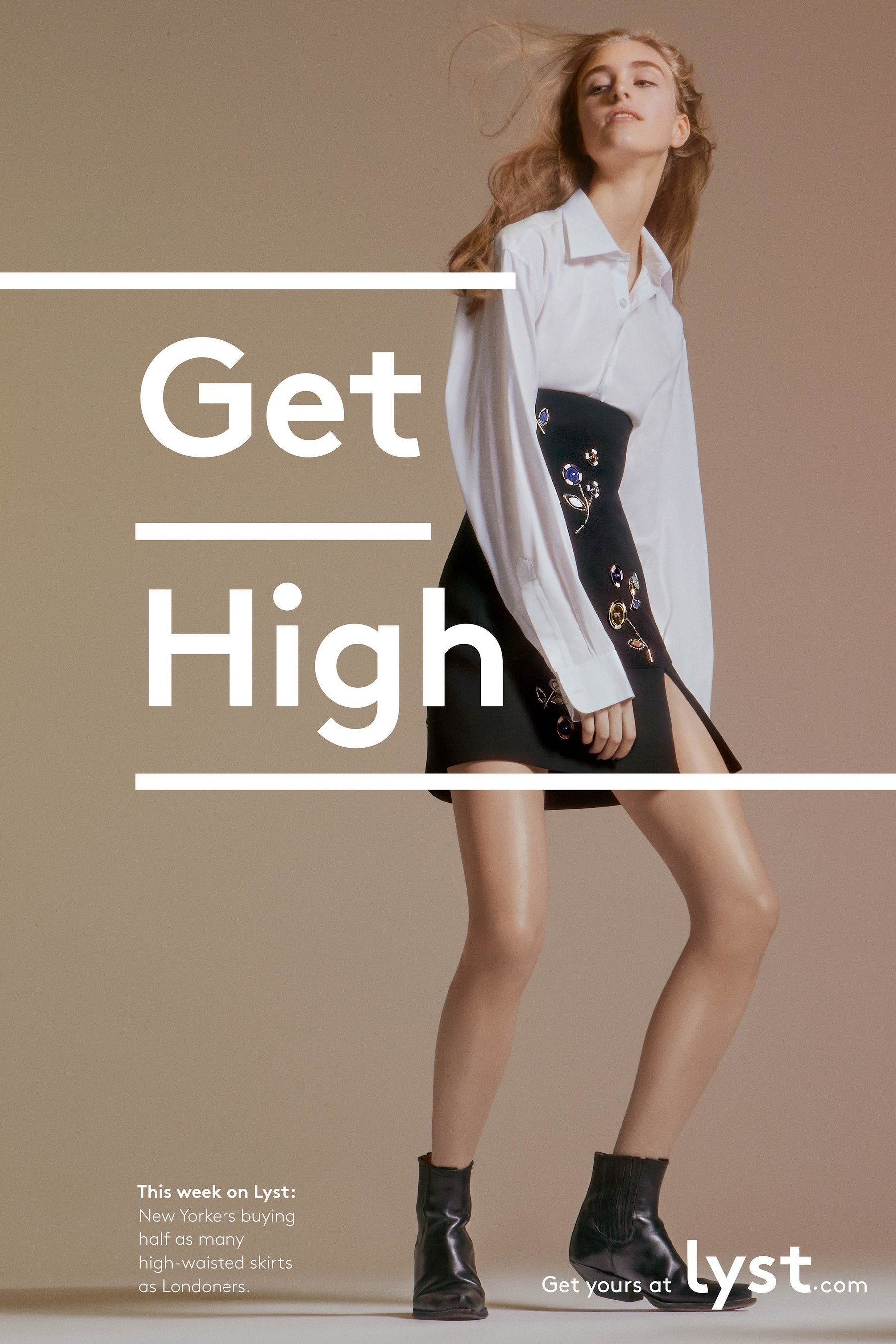 Lyst ad campaign image