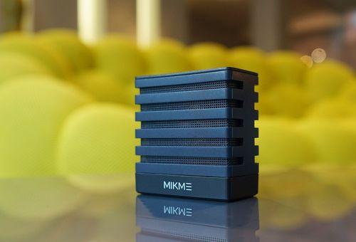 Mikme Wireless Recording Microphone Fotograf und Fotorechte: Mikme GmbH (PRNewsFoto/Mikme GmbH)