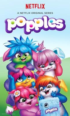 """NETFLIX AND SABAN BRANDS ANNOUNCE """"POPPLES"""", A NEW ORIGINAL SERIESFOR KIDS (PRNewsFoto/Netflix, Inc.)"""