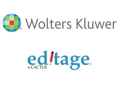 Editage Partners with Wolters Logo (PRNewsFoto/Cactus Communications)