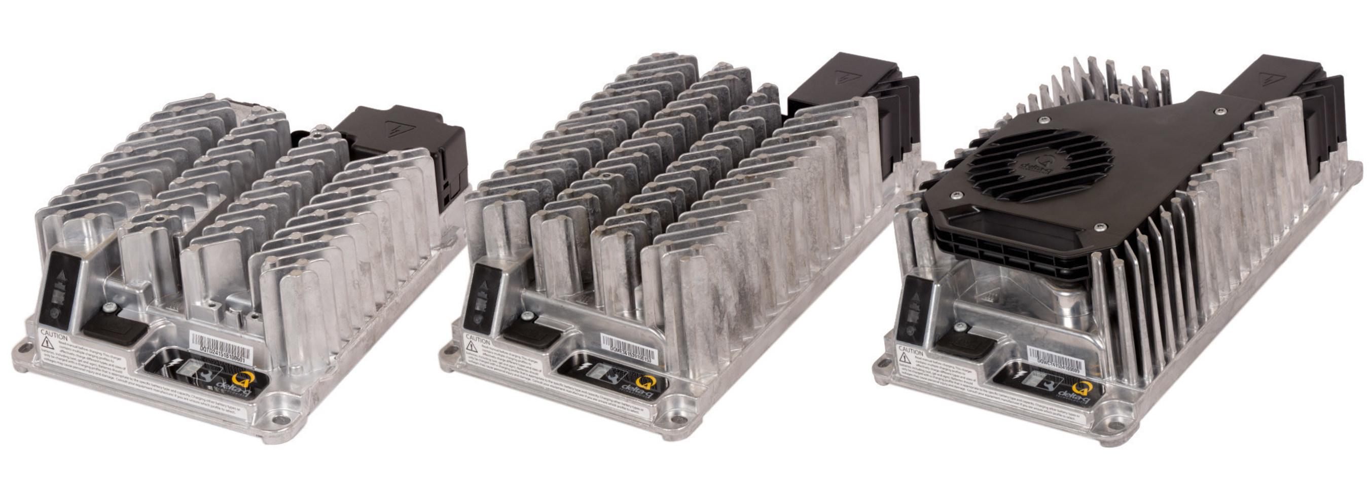 Delta-Q Technologies führt neue industrielle Akkuladegeräte der IC-Serie ein