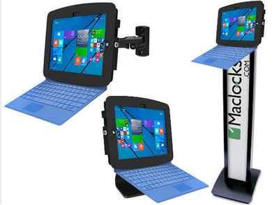 Maclocks Surface Enclosure for Microsoft Surface Pro 3 (PRNewsFoto/Maclock)