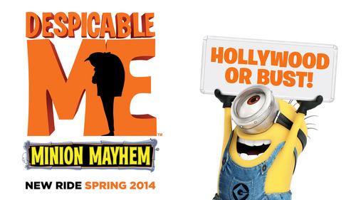 "Universal Studios Hollywood Announces New Details Regarding Plans for Highly Anticipated ""Despicable Me Minion Mayhem"" Attraction Including ""Super Silly Fun Land"" Debuting in Spring 2014.  (PRNewsFoto/Universal Studios Hollywood)"