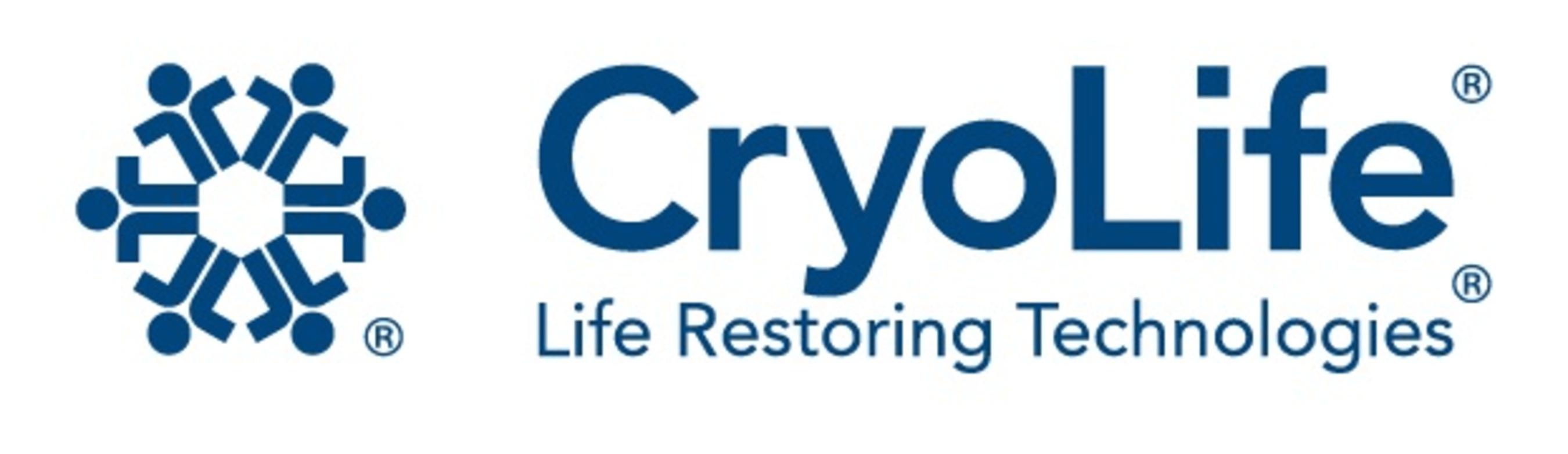 Cryolife logo.