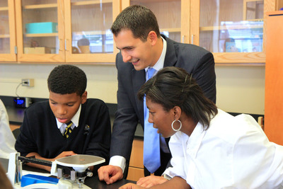 The VWR Foundation Celebrates 50th Grant With Dedication Of A New Science Lab At Cristo Rey Philadelphia High School