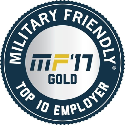 Combined Insurance is ranked as the number two Military Friendly(R) Employer in the $500MM - $1B revenue category for 2017. This is the sixth consecutive year that Combined Insurance has made the list and third consecutive year in the top 5--the company was previously named the Number One Military Friendly(R) Employer in the nation for 2015 and 2016.