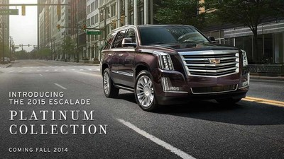 Check out the new 2015 Cadillac Escalade at Sheboygan Cadillac! (PRNewsFoto/Sheboygan Cadillac)