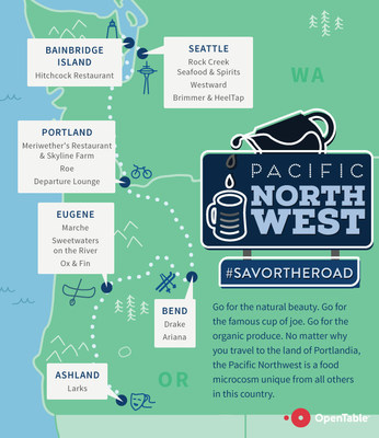 No matter why you travel to the land of Portlandia, the Pacific Northwest is a food microcosm unique from all others in this country.