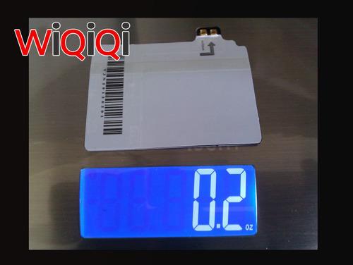 WiQiQi S4, weight - photo.  (PRNewsFoto/Monster Watts)