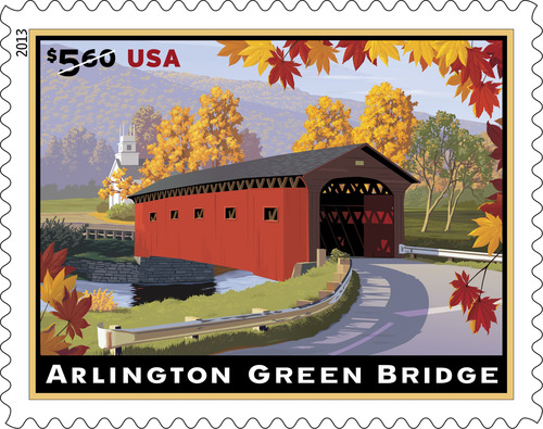 Vermont's Arlington Green Bridge Gets Stamp of Approval