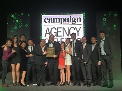 MRM//McCann accepts Digital Agency of the Year Award