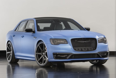 The Chrysler 300 Super S is among the Mopar-modified vehicles showcased at SEMA 2015.