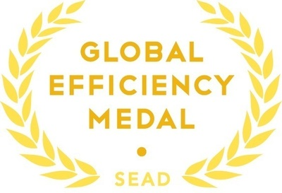 By recognizing and promoting the world's most energy-efficient lamps and luminaires, the SEAD Global Efficiency Medal competition for efficient lighting will spur greater innovation among manufacturers and help buyers make informed purchasing decisions that can lower energy bills. (PRNewsFoto/Clean Energy Ministerial)