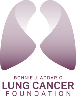 Bonnie J. Addario Lung Cancer Foundation logo.