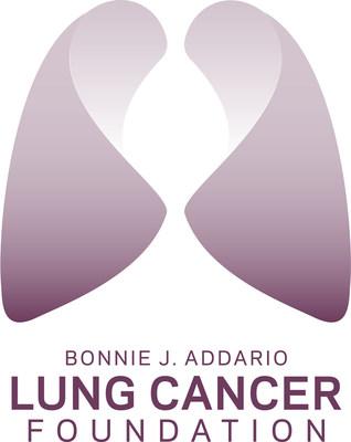 Bonnie J. Addario Lung Cancer Foundation logo.