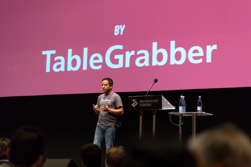 TableGrabber wins Next Step Challenge 2015 and the 1st prize of euro250,000Contact: public (PRNewsFoto/Next ...