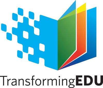 TransformingEDU logo (PRNewsFoto/Living in Digital Times)