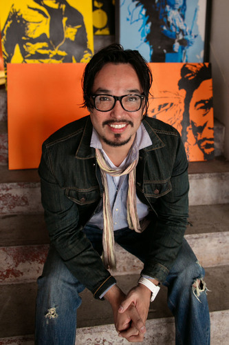 Native American Artist Steven Judd will create a painting live at the American Indian College Fund Flame of ...