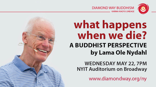 http://www.diamondway.org/ny/events/what-happens-buddhist-perspective.  (PRNewsFoto/Diamond Way Buddhist Center NYC)