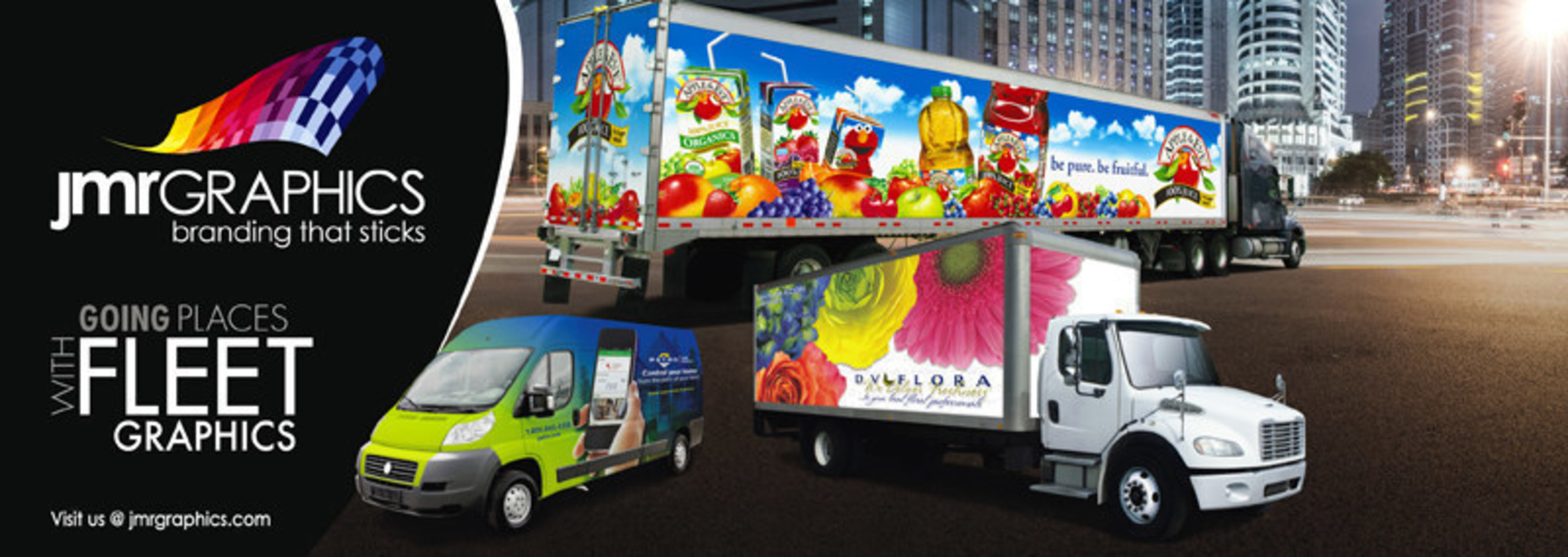 JMR Graphics Explains Why Vehicle Graphics Have Become so Popular in 2015