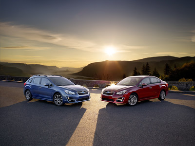 Improved New 2015 Subaru Impreza (PRNewsFoto/Subaru of America, Inc.)