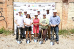 Friday's groundbreaking marks the official start of construction on the Castleberry Spur in Atlanta, Ga. Photo credit: Sara Hanna Photography