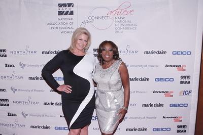 Emme and Star Jones at NAPW 2014 (PRNewsFoto/NAPW)