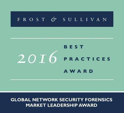 Blue Coat Systems Receives 2016 Global Network Security Forensics Market Leadership Award