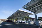 The solar and energy efficiency project includes solar electric generation facilities at 16 district sites, including the district office, shown here.  (PRNewsFoto/Chevron Energy Solutions)