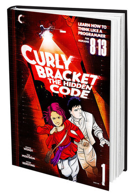 Curly Bracket Book Front Cover