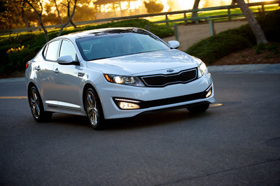 Kia Motors America has announced its best annual sales total in company history which were led by the popular Optima midsize sedan which became the first Kia nameplate to top 150,000 units in a single year.  (PRNewsFoto/Kia Motors America)