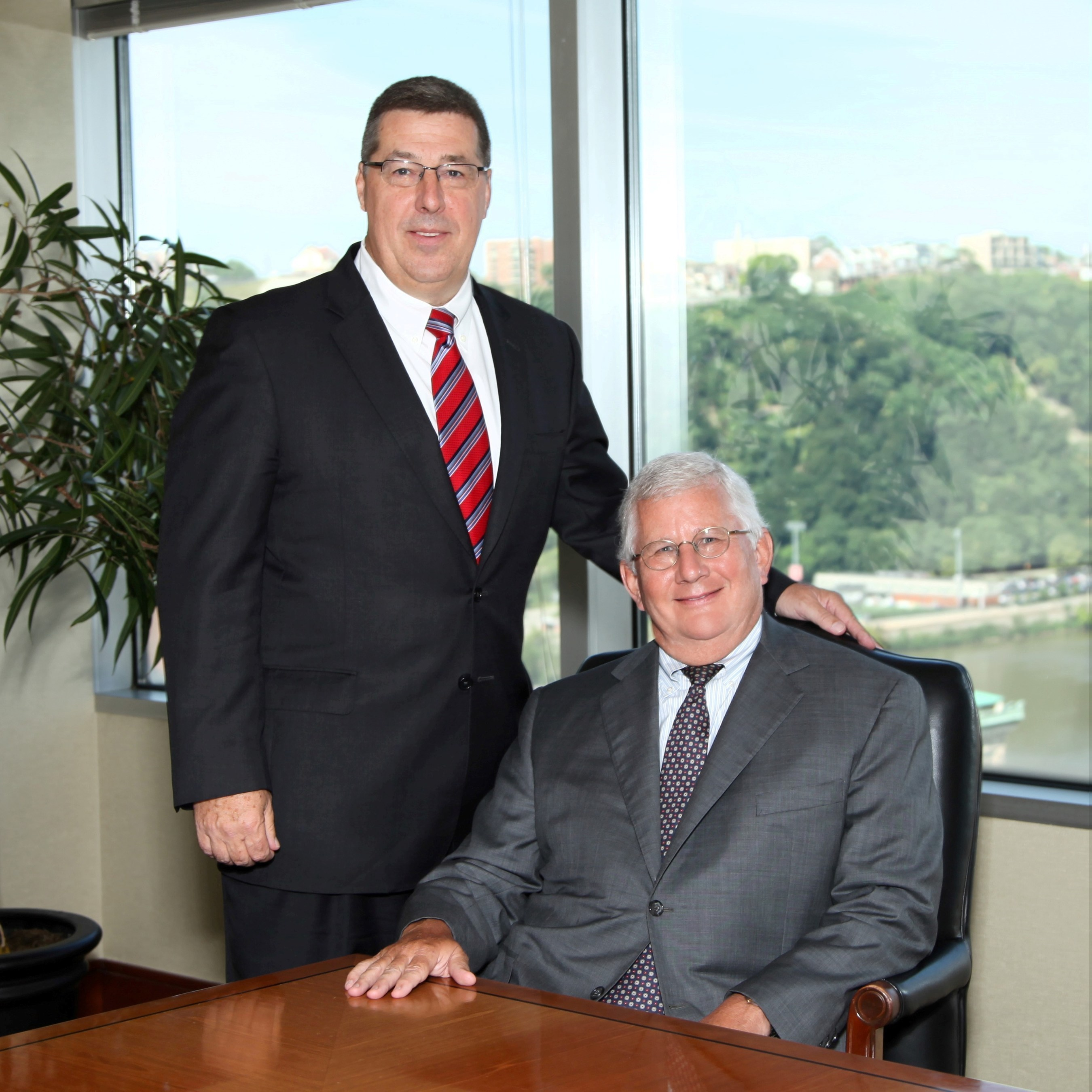 Buchanan Ingersoll & Rooney CEO, Managing Director and Chairman of the Board Jack Barbour and CEO-Elect Joe Dougherty