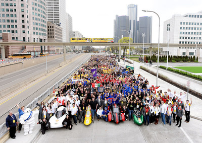 More than 1,000 university and high school students from seven countries across the Americas returned to Detroit on April 22-24, 2016, and raced their ultra energy-efficient, custom built cars around the downtown streets of the Motor City. In a head-to-head finish against 2015 winner, the University of Toronto, Universite Laval from Quebec, Canada took back the crown with 2,584 mpg in the Prototype Gasoline category.