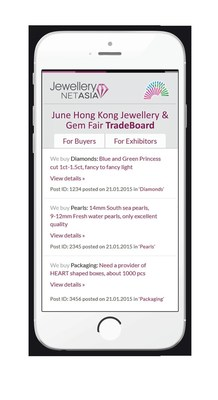 TradeBoard connects Exhibitors and Visitors in a digital way