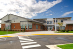 Moseley Architects' T. Clay Wood Elementary School earns LEED Silver increasing the firm's LEED projects to 43.  (PRNewsFoto/Moseley Architects)