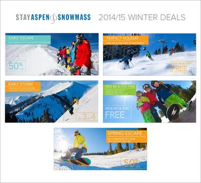 Stay Aspen Snowmass 2014/15 Winter Deals (PRNewsFoto/Stay Aspen Snowmass)