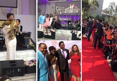 Gospel Saxophonist Angella Christie, Co-Host TV One's Roland Martin, Actor Richard Lawson, Tina Knowles-Lawson, Essence's Mikki Taylor, Emmy Award Winning Shaun Robinson and Co-Host Actress Vivica A. Fox!