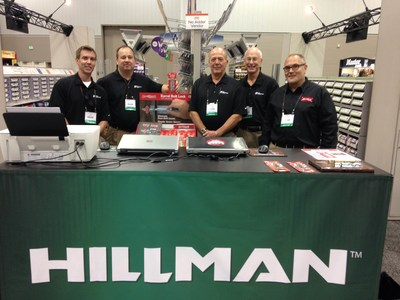 Hillman Group Sales Team & Ajustco Sales team at the  DO IT Best Show Indianapolis, Oct 2015