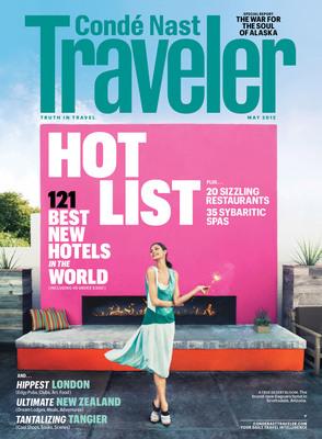 Conde Nast Traveler - May 2012 - Hot List issue.  (PRNewsFoto/Conde Nast Traveler)