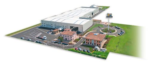 Giulio Barbieri S.p.A. Headquarters – Manufacturer of outdoor aluminium structures, solar carports and EVSE