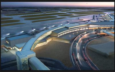 JetBlue breaks ground on new international arrivals terminal at JFK.  (PRNewsFoto/JetBlue Airways)