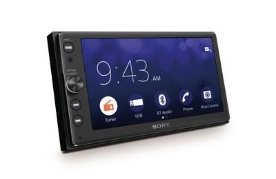 The new XAV-AX100 in-car audio system