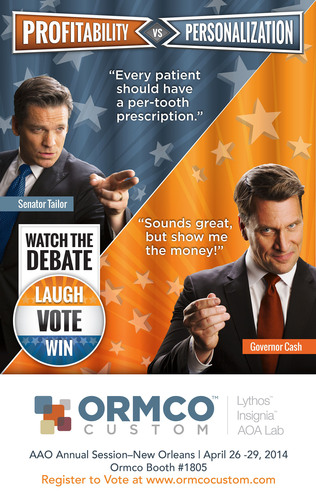 Ormco Custom will make its public debut at this year's American Association of Orthodontists (AAO) Annual ...