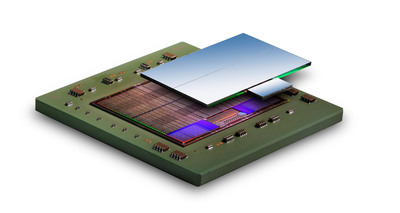 The award-winning Virtex(R)-7 H580T FPGA is the world's first 3D heterogeneous All Programmable device.  (PRNewsFoto/Xilinx, Inc.)