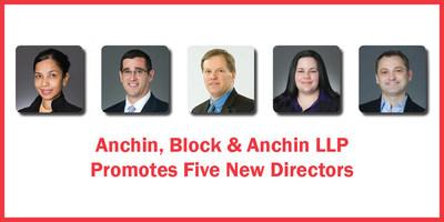 Anchin, Block & Anchin, LLP Promotes Five New Directors