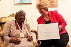 Internet Sensation, 106-year-old Dancing Grandma Receives President's Lifetime Achievement Award for Service