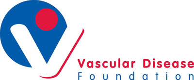 The Vascular Disease Foundation Logo www.vdf.org.  (PRNewsFoto/Vascular Disease Foundation)